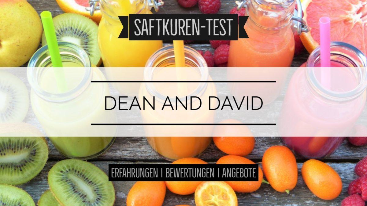 Test und Erfahrungen: Saftkur von Dean and David