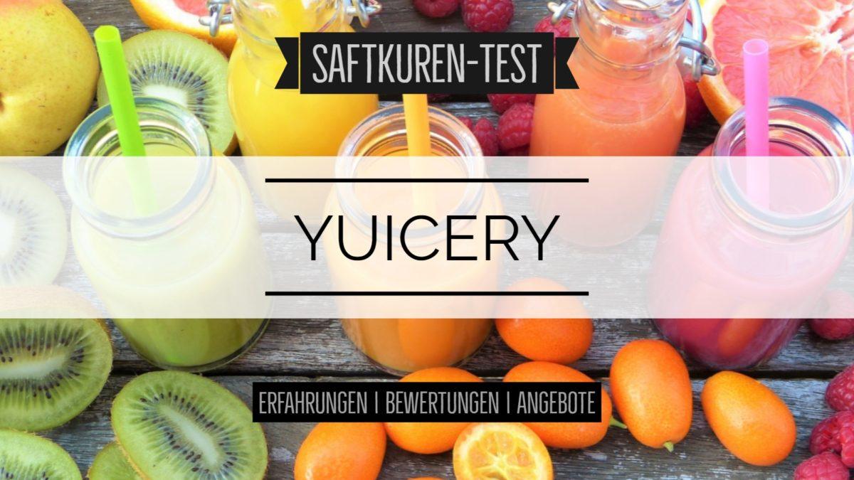 Test und Erfahrungen: Saftkur von Yuícery
