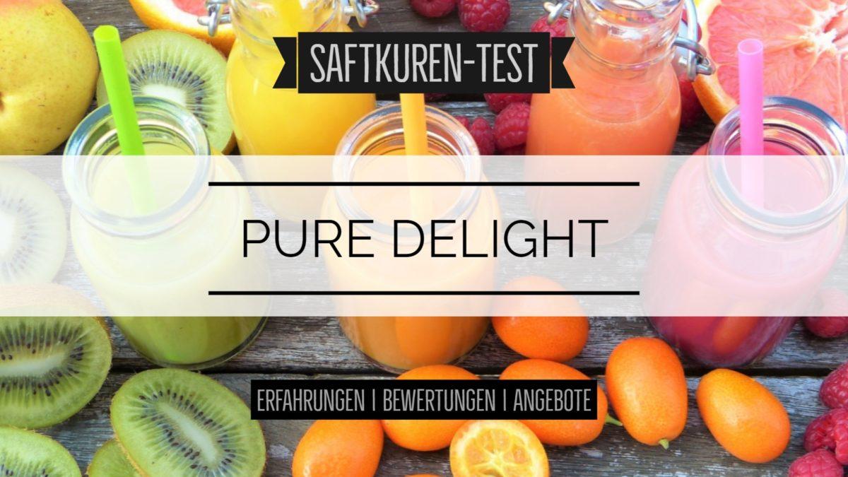 Test und Erfahrungen: Saftkur von Pure Delight