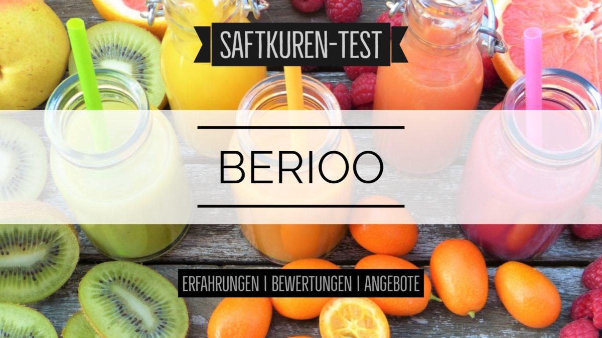 Test und Erfahrungen: Saftkur von Berioo